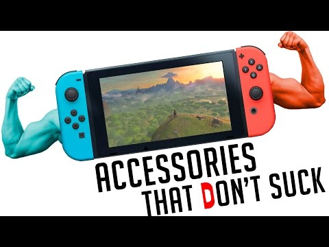 Nintendo Switch 10 Accessories That Don t Totally Suck