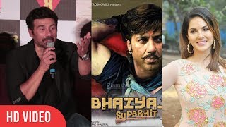 Sunny Deol Reaction On Sunny Leone Rejected For Bhaiyyaji Superhit Item Song | Poster Boys