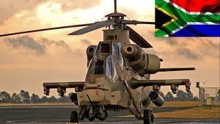 Denel Rooivalk - O Principal Helicóptero da Africa do Sul