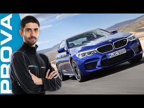 Nuova BMW M5 la velocità più comoda che c è