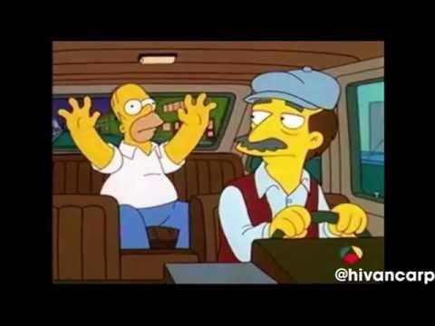 El Taxi Los Simpsons