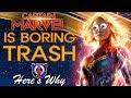 Captain Marvel is boring TRASH: here