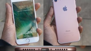 iPhone 7 Unboxing ROSE GOLD 128GB