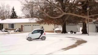Smart Car Snow fun