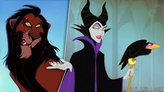 10 SCARIEST Disney Villains of ALL TIME!