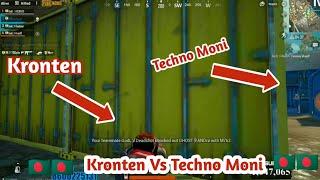 Kronten Vs Techno Moni | PUBG Mobile Bangla Gameplay