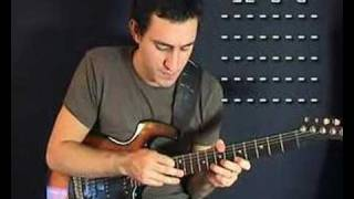 Tapping guitar lesson