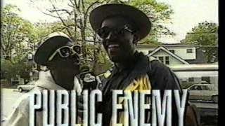 Public Enemy interview Yo MTV Raps 1990 on Fear Of A Black Planet