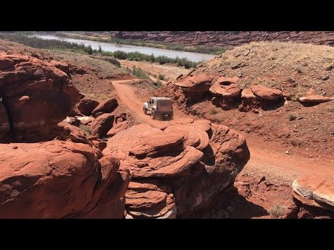 Jeep's 2017 Easter Safari Course in Moab, Utah
