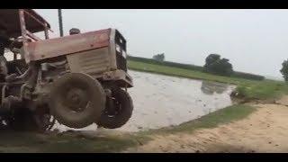 Massey Ferguson 375 Tractor Stuck in Mud | Mf 375 Stuck in Mud | Tractor Stunt