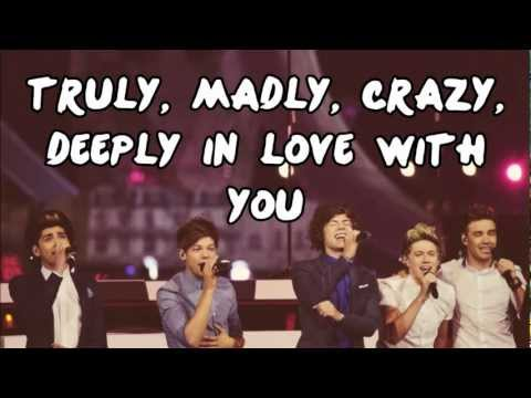 Xxx Mp4 One Direction Truly Madly Deeply Lyrics Pictures Download Link 3gp Sex