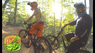 BADASS DH MTB AT BAILEY!!!  Brian and I ride some full on Downhill| Redemption17 | Ep. 16 |