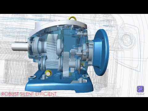 ROBUS in-line helical gearboxes by motive