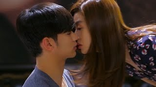romantic kiss scenes - pinoccio - my love from the star - healer -  cute korean drama