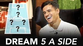 Neymar will win the Ballon d'Or | Philippe Coutinho's Dream 5-A-Side ⚽
