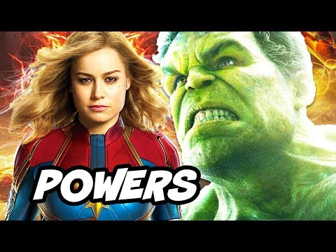 Xxx Mp4 Captain Marvel Is Most Powerful Avenger In Infinity War Explained 3gp Sex