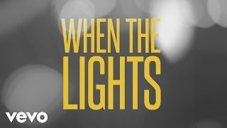 Jason Aldean - Lights Come On (Lyric Video)
