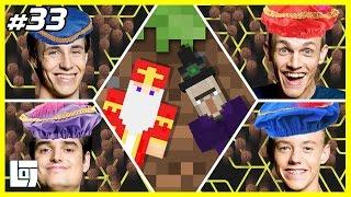 Minecraft met Milan, Don, Link, Quin en Sinterklaas | XL Battle | LOGNL #33