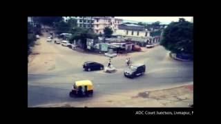 Funny Traffic Policeman in Dimapur Nagaland