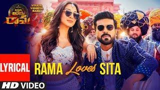 Rama Loves Seeta Song With Lyrics   Vinaya Vidheya Rama   Ram Charan, Kiara Advani, Vivek Oberoi