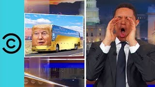 Donald Trump Is Throwing Paul Ryan Under The Bus - The Daily Show | Comedy Central