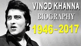 Vinod Khanna - Biography