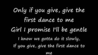justin bieber first dance lyrics only