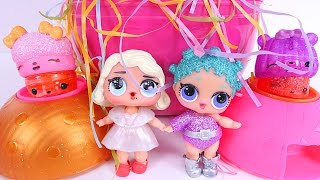 GIANT EGG Full of Surprises L.O.L. Crying Baby Dolls Num Noms Blind Toys