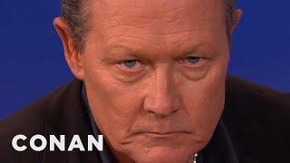 "Robert Patrick Recreates His ""T2"" Look  - CONAN on TBS"
