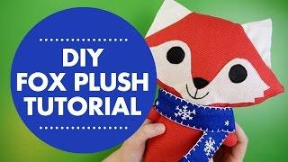 DIY Fox Plush Tutorial with Simplicity Pattern 1081