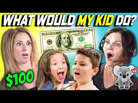 CAN PARENTS GUESS WHAT THEIR KID DOES WITH 100 DOLLARS Ep. 3