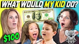CAN PARENTS GUESS WHAT THEIR KID DOES WITH 100 DOLLARS? Ep. # 3