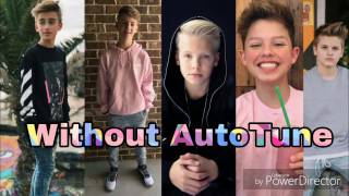Top boys Musers (Musical.ly Stars Singing WITHOUT AUTO-TUNE)(MattyBRaps, Marcus&Martinus and more)