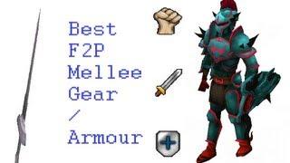 Runescape Gravite Rapier best F2P melee armour