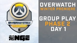 Group Play Phase 2 Day 1 - Overwatch Winter Premiere presented by NGE