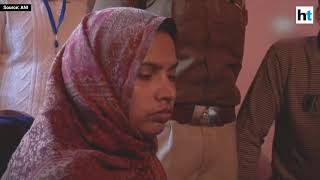 Yogi Adityanath meets family of slain CRPF soldier in Maharajganj