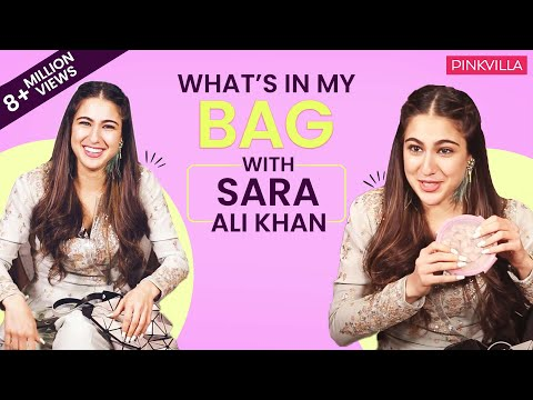 Xxx Mp4 What S In My Bag With Sara Ali Khan Fashion Bollywood Pinkvilla Simmba 3gp Sex