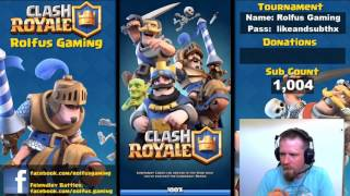 Friendly Clash royale games a 25 card tournament and a $20au Apple or Google card next sunday!!!!