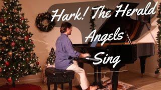 Hark! The Herald Angels Sing - David Hicken (Carols Of Christmas)   Piano Solo