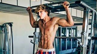 Logan Paul Workout (GYM COMPILATION)