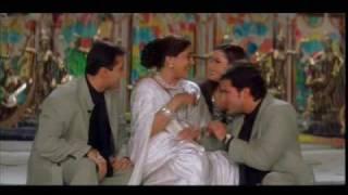 Salman Khan, Monish Behl, Saif Ali Khan & Neelam in Yeh To Sach Hai - Hum Saath Saath Hain