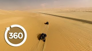 Driving Abu Dhabi (360 Video)