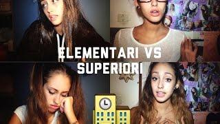 ELEMENTARI VS SUPERIORI