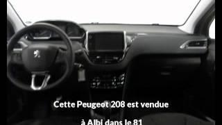 Peugeot 208 occasion visible à Albi présentée par Peugeot gga maurel albi