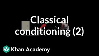 Classical conditioning: Neutral, conditioned, and unconditioned stimuli and responses | Khan Academy