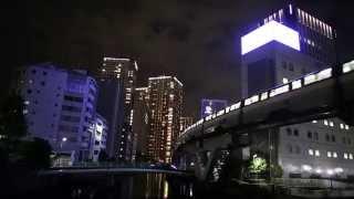 Tokyo Night view at Wangan area 東京夜景~湾岸エリア