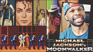 Michael Jackson Video Game! - Moonwalker - (Old School Games) | xChaseMoney