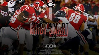 UGA Football: Ep. 3: Kirby Smart All Access vs Samford: 2017