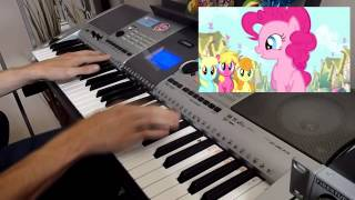 """Smile Song"" My Little Pony - Piano Cover"