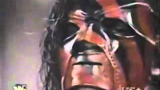 Masked kane(kane's first night on raw)